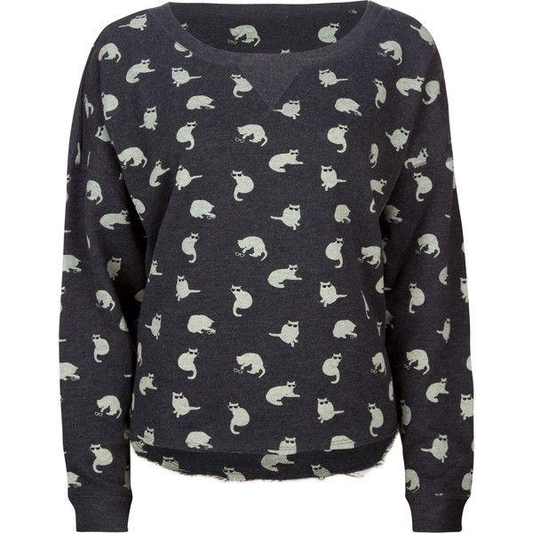 vans cool kitten women's sweatshirt