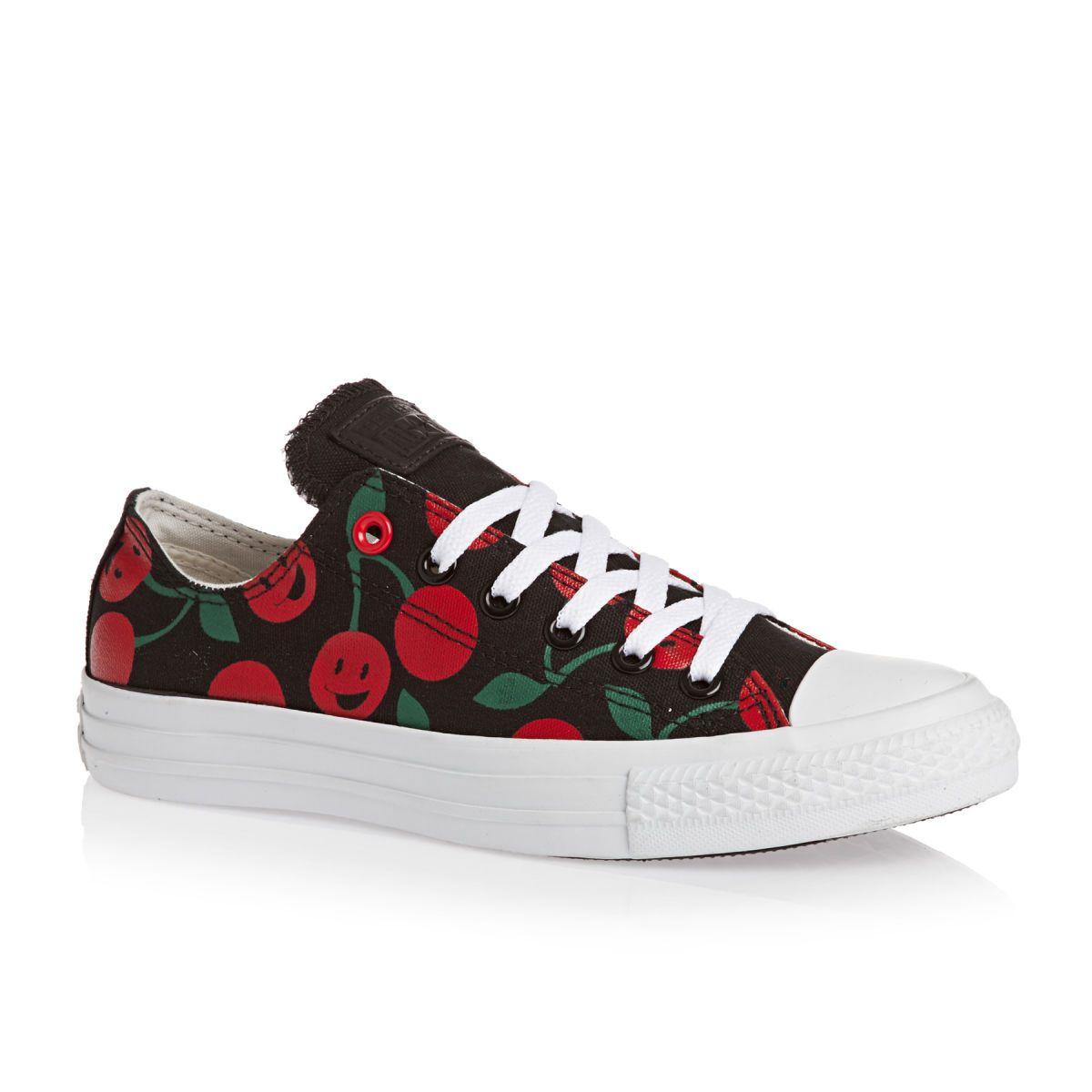 Converse Chuck Taylor All Stars Cherry Print Shoes - Black