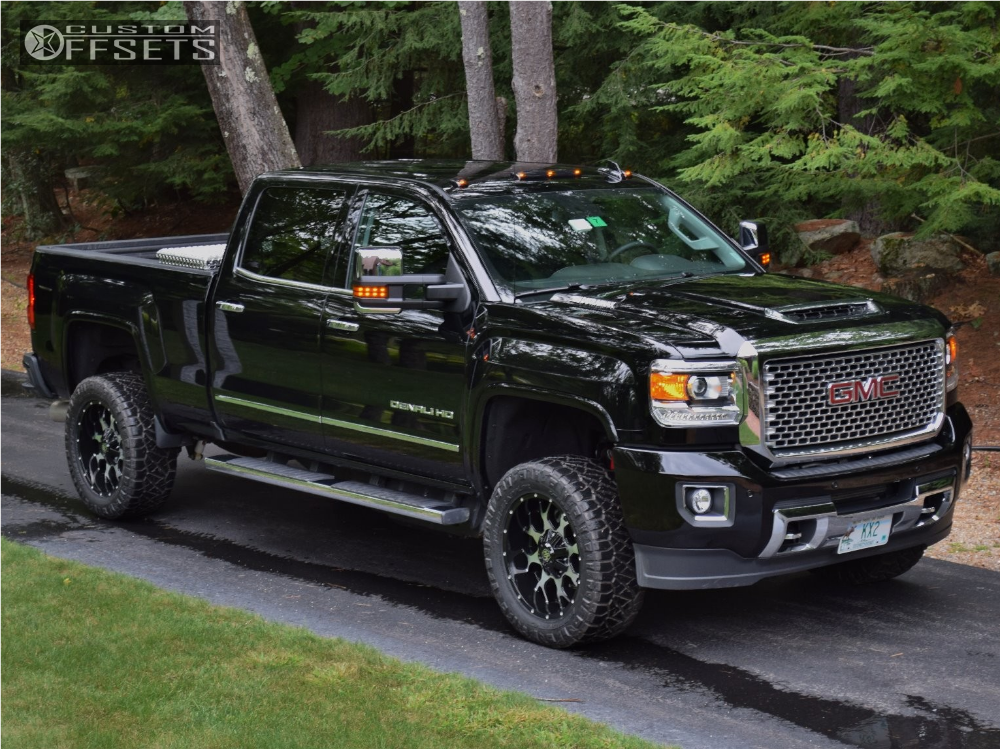 2017 Gmc Sierra 2500 Hd Mayhem Warrior Readylift Leveling Kit