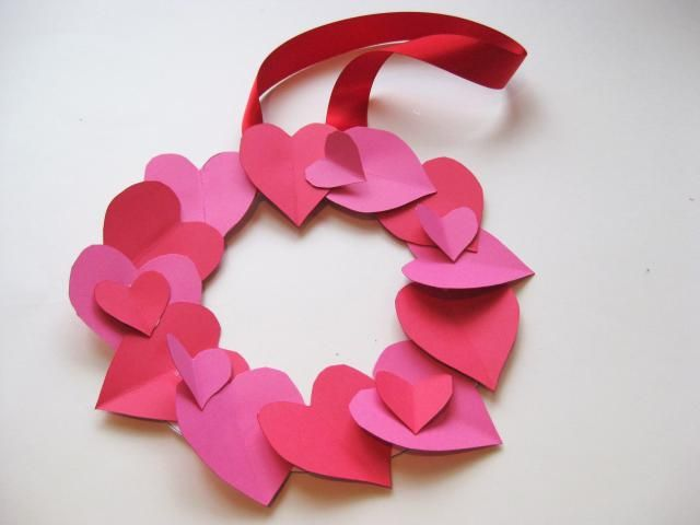 How To Make A Valentines Day Heart Wreath