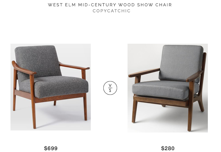 West Elm Mid Century Show Wood Chair Wood Chair Mid Century