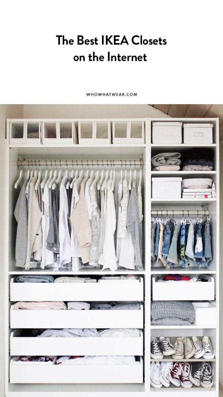 The Best Ikea Closets On The Internet Ikea Closet Ikea Closet