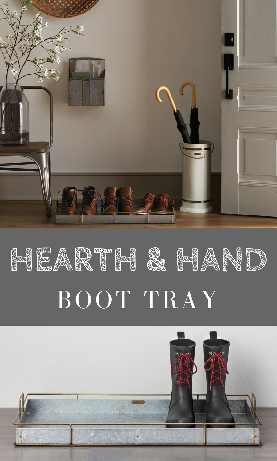 Beautiful Rustic Farmhouse Boot Tray By Hearth U0026 Hand With Magnolia. This  Would Be Great At Entryway Or Even In The Mudroom To Keep Shoes Organized  And The ...