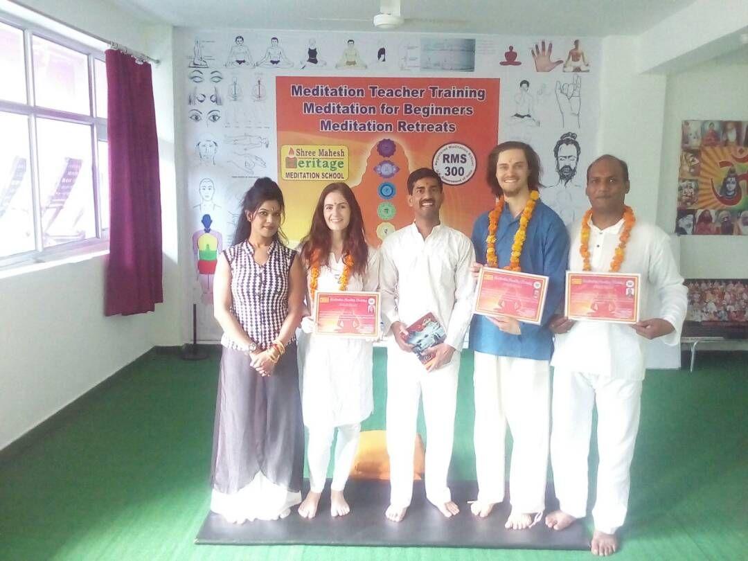 300 Hour Meditation Teacher Training Certification At Shree Mahesh