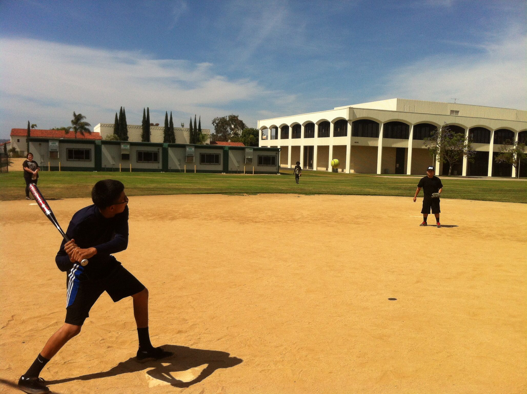 Softball W My Physical Education Kiddos At Sdsu