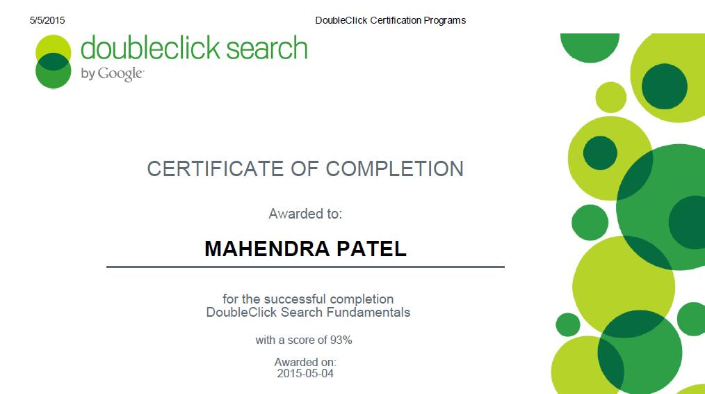 Double Click Search Certificate Google Bing Analytics Hubspot