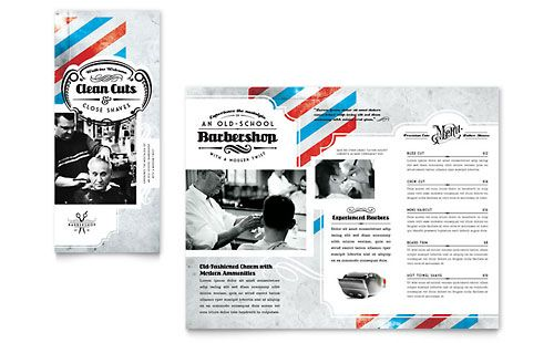 Cool Tri Fold Brochure Templates Graphic Design Inspiration