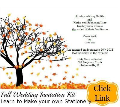Fall Wedding Invitation Kit Printable Templates Fall Wedding Invitations Fall Wedding Invitations Diy Fall Wedding