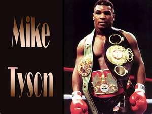 Mike Tyson Mike Tyson Mike Tyson Boxing Tyson