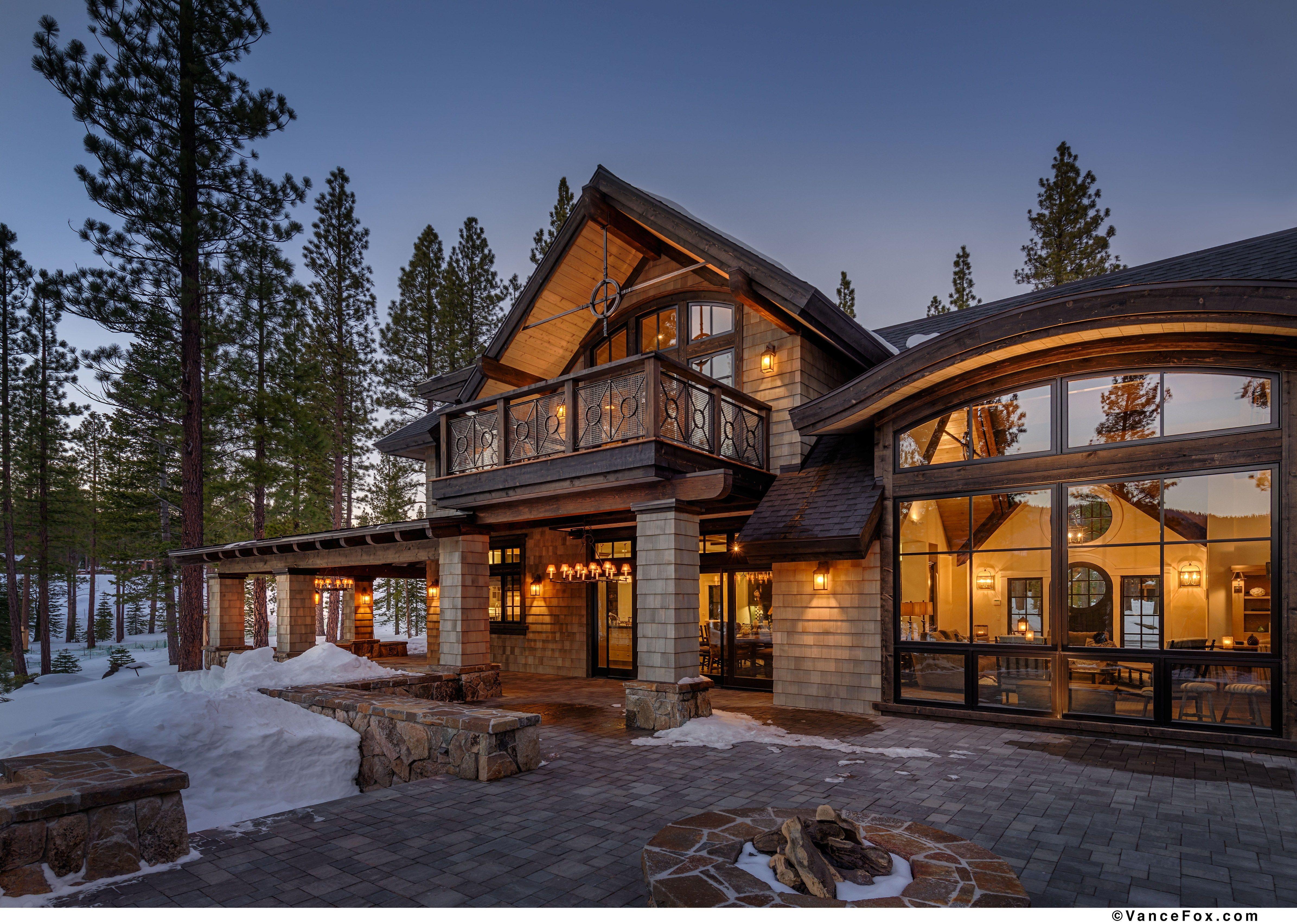 Schroder Way Mountain Home Exterior Mountain House Plans House Exterior