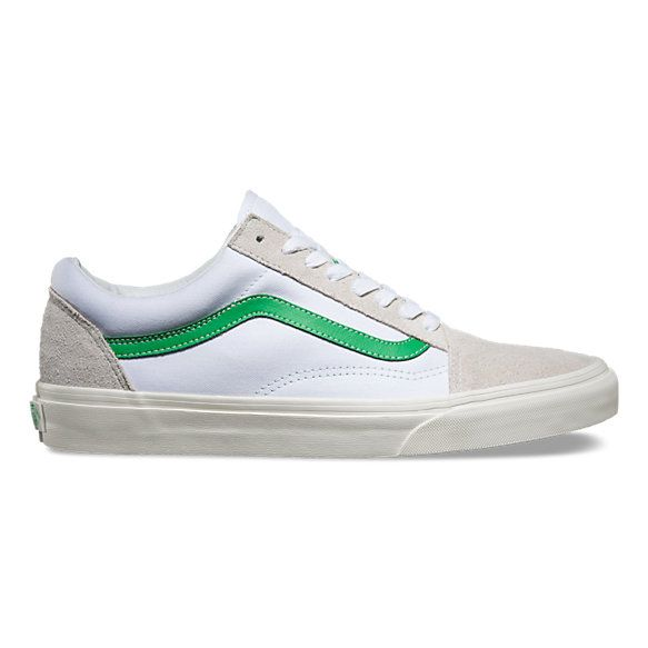 The Vintage Sport Old Skool, the Vans classic skate shoe and first to bare  the