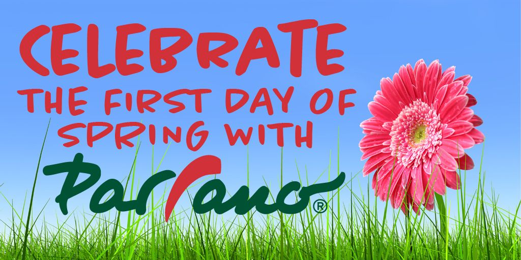 Happy First Day of Spring from all of us at Parrano!
