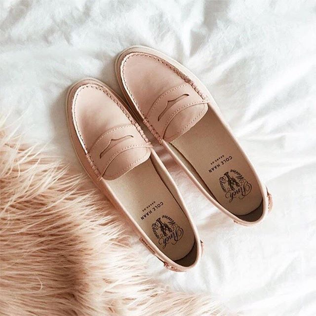 85b4e28c1b943 Cole Haan Blush Loafer Flats at Saks OFF 5TH | #Shoesday | Shoes ...