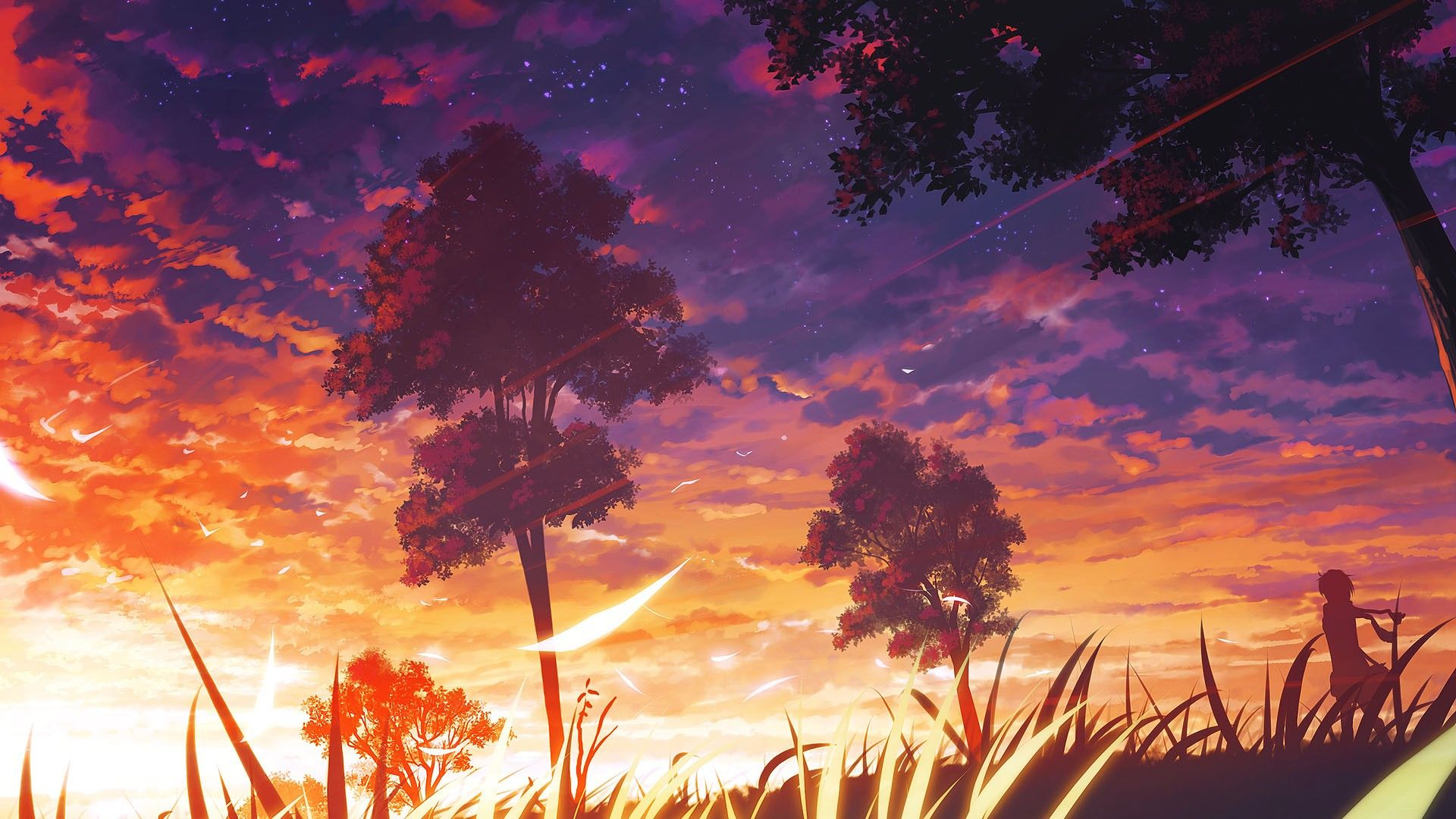 anime scenery wallpapers desktop background with high definition