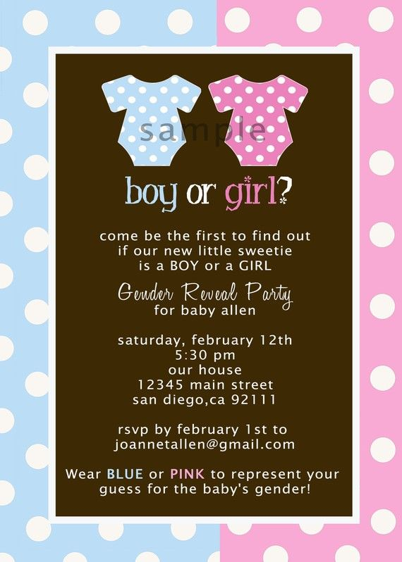 Gender Reveal Cute Idea With Wearing The Color You Think Ill Have