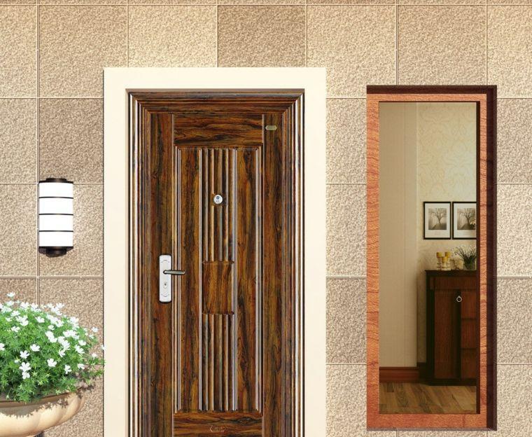 puertas entrada casa para decorar el exterior Decoración Pinterest - puertas de entrada