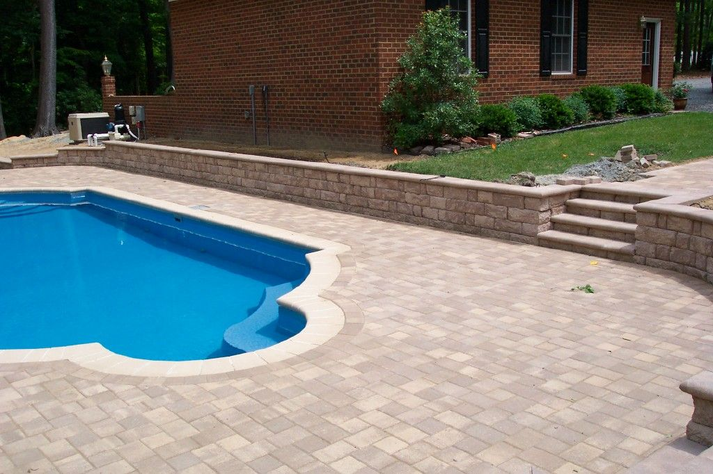 Pool Paver Ideas pavers for patio rumos tile pool services Trends In Pool Deck Materials Stone Landscapinglandscaping Ideaspaver