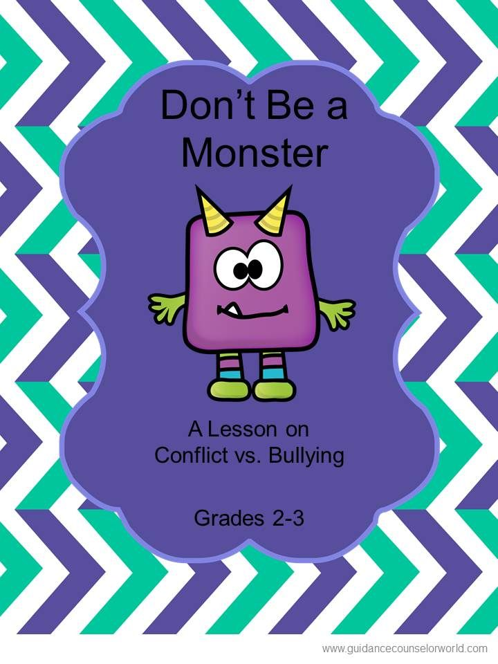 Guidance lesson on bullying, for Grades 2-3. Teach kids the ...