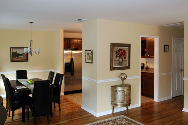 Kitchen remodels for split level homes marie place for Dining room renovation