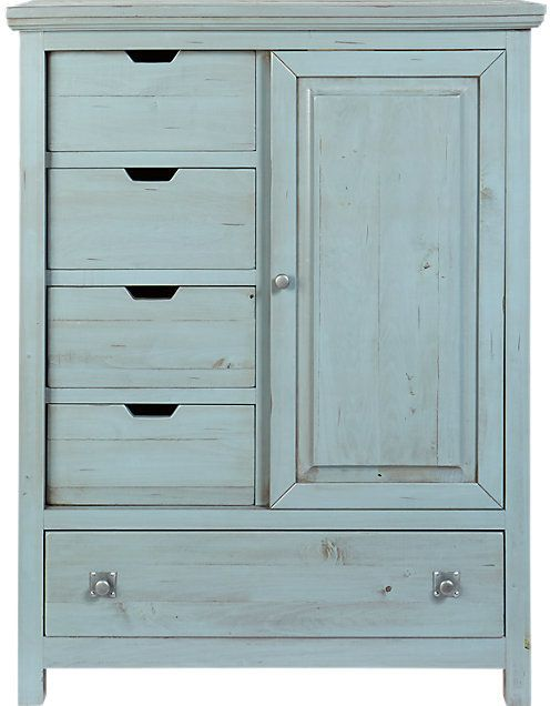 shop for a summer grove blue gentlemans chest at rooms to go find chests that will look great in your home and complement the rest of your furniture