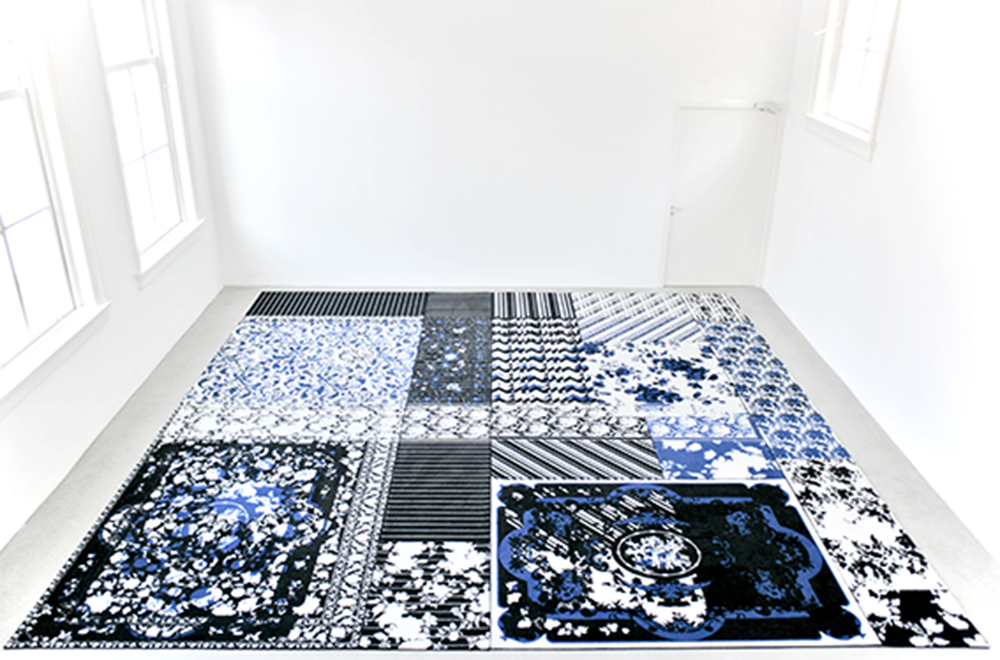All in One Carpet, created as part of Studio Droog 2012