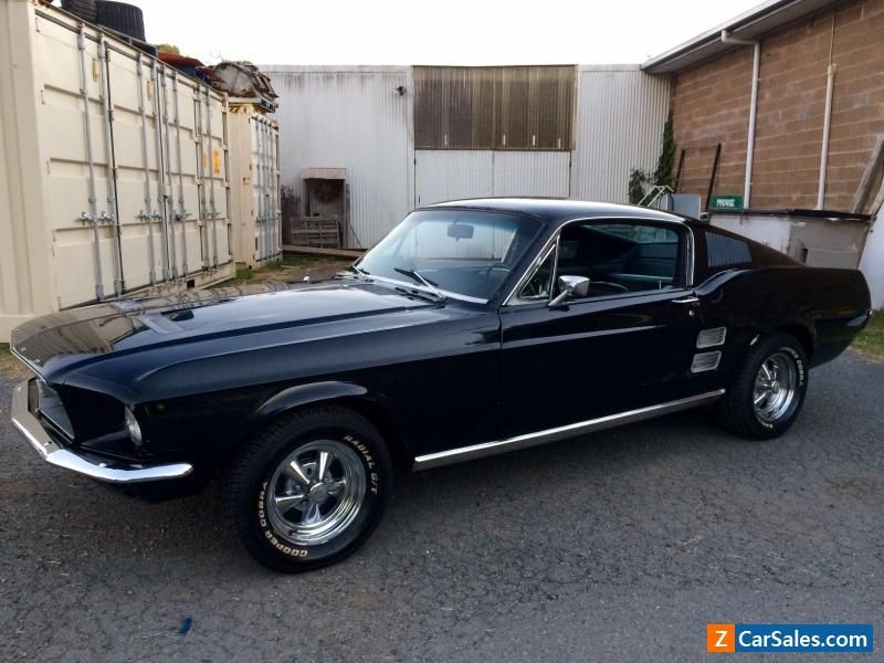 Car For Sale 1967 Ford Mustang Fastback Numbers Matching Gt
