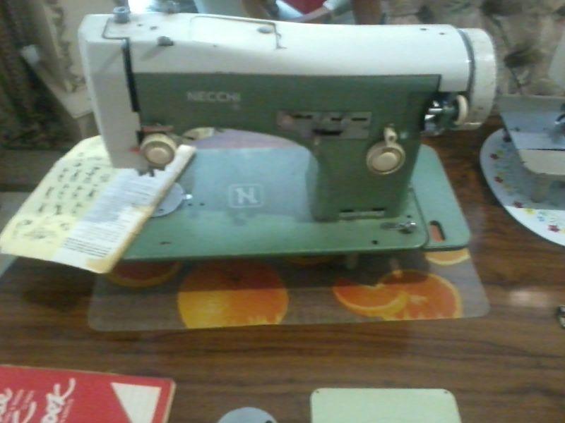 Necchi | Vintage sewing machines, Vintage sewing, Gumtree ...