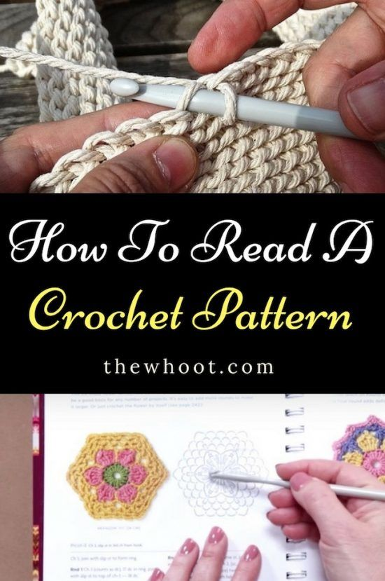 How To Read A Crochet Pattern Chart Youtube Video   Pinterest ...