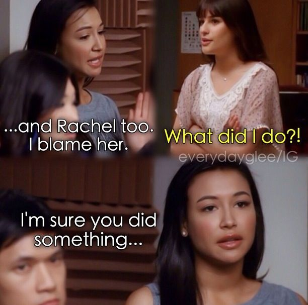 are rachel and santana dating Finn and rachel dating in real life  finn takes rachel to the train station and sacrifices their relationship for rachel's  santana, brittany, puck, artie,.