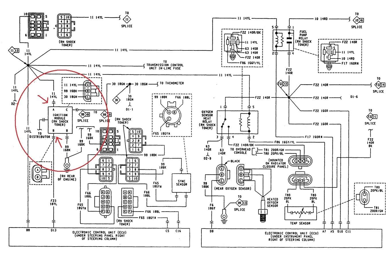 90 Jeep Wrangler Wiring Diagram - Data Wiring Diagram Update