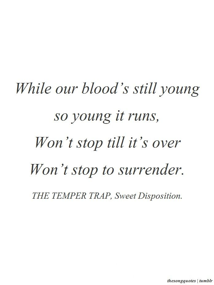 Trap Music Quotes : music, quotes, Sweet, Disposition-The, Temper, Quotes,, Lyrics,, Lyrics