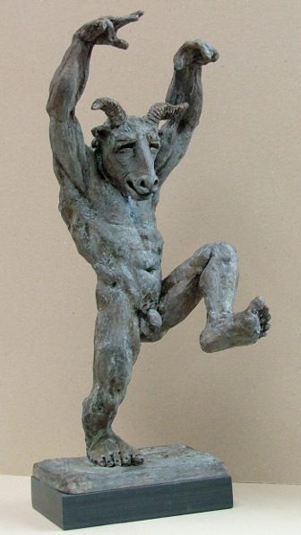 Sculpture, Statue, Figure, Male, Nude, Motion -1812