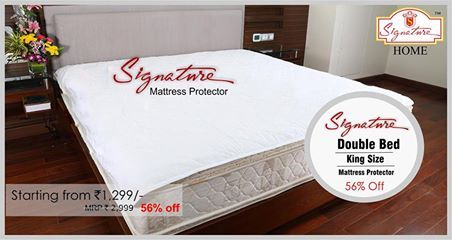 Mattress Protector From Signature Buy Now Www Signatureblankets In Onlineshopping Home Decore Signature Mattress Protector Mattress King Size Mattress