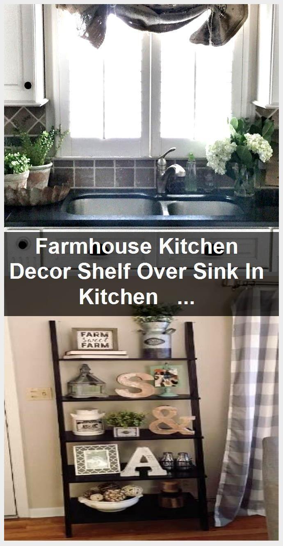 Photo of Kitchen Shelf Decor Above Sink – Kitchen Shelf Decor