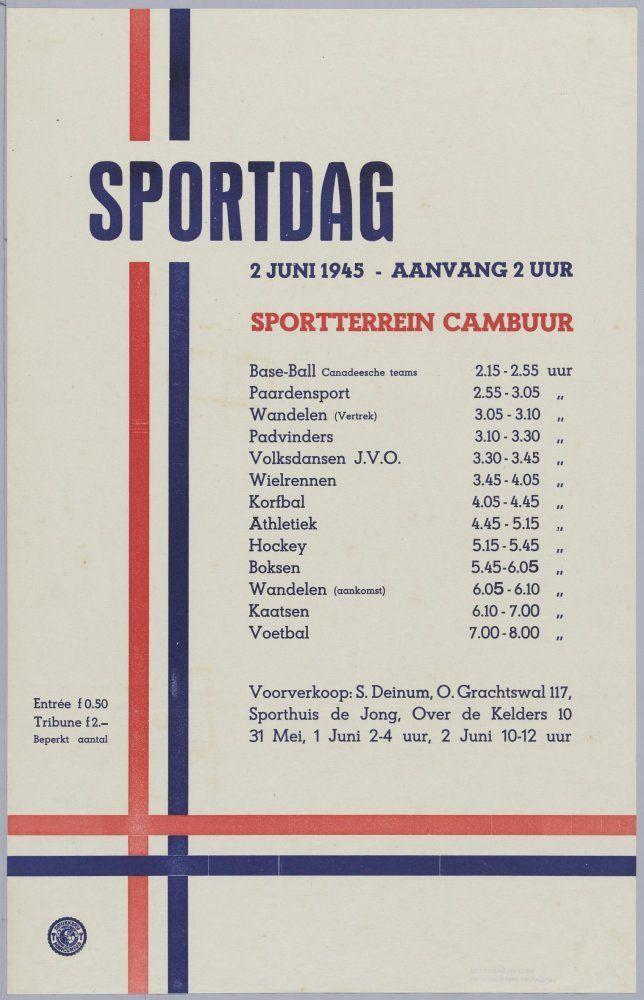 sportdag 1945
