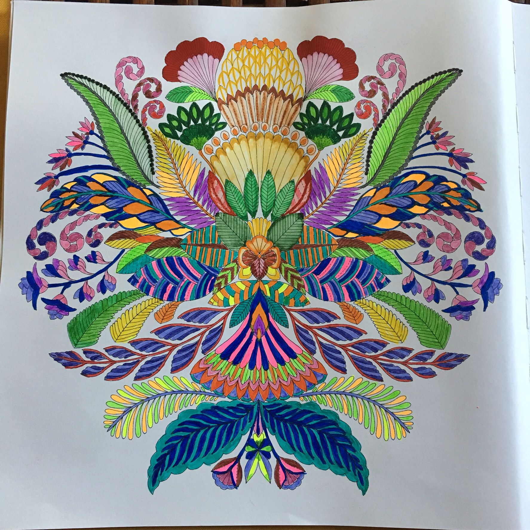 Pin On Colouring Tropical Wonderland