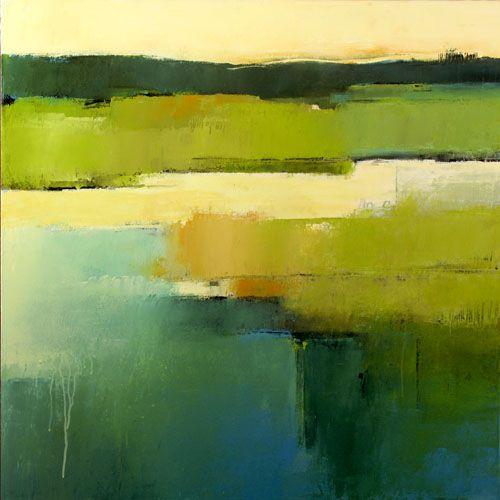 Irma Cerese Abstract Landschap Landschapsschilderijen Landschappen