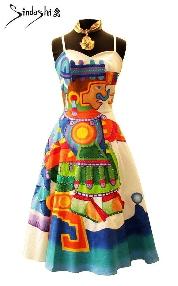 257ba4be39 Sindashi  moda artesanal inspirada en el arte mexicano