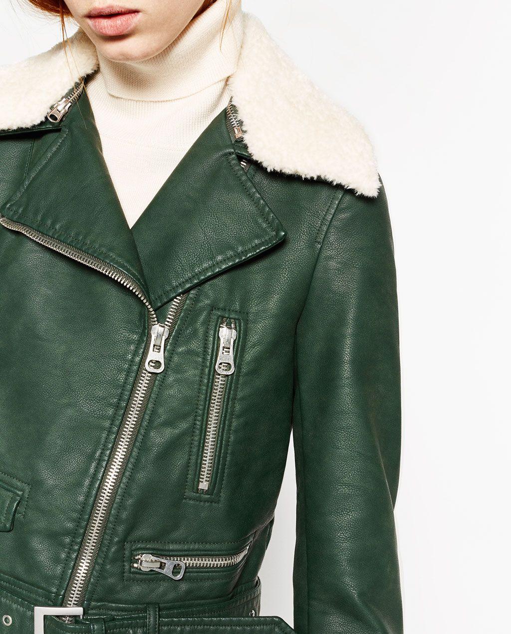 2c6b408ff JACK IN LEERLOOK-TRENDING NOW-DAMES | ZARA Nederland | Fashion ...