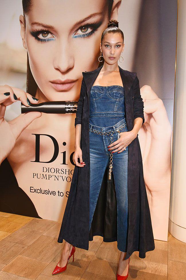 25857b42dd69 Bella Hadid at Selfridges for the Dior launch