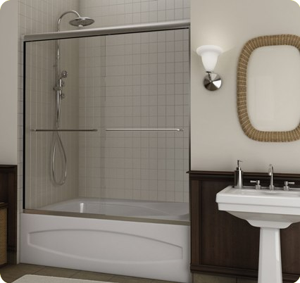 glass doors on bathtub - Google Search & glass doors on bathtub - Google Search | condo upgrade | Pinterest ...