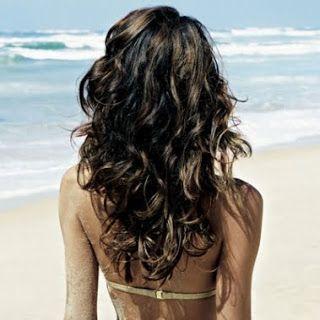 Permanente capelli lunghi prima e dopo