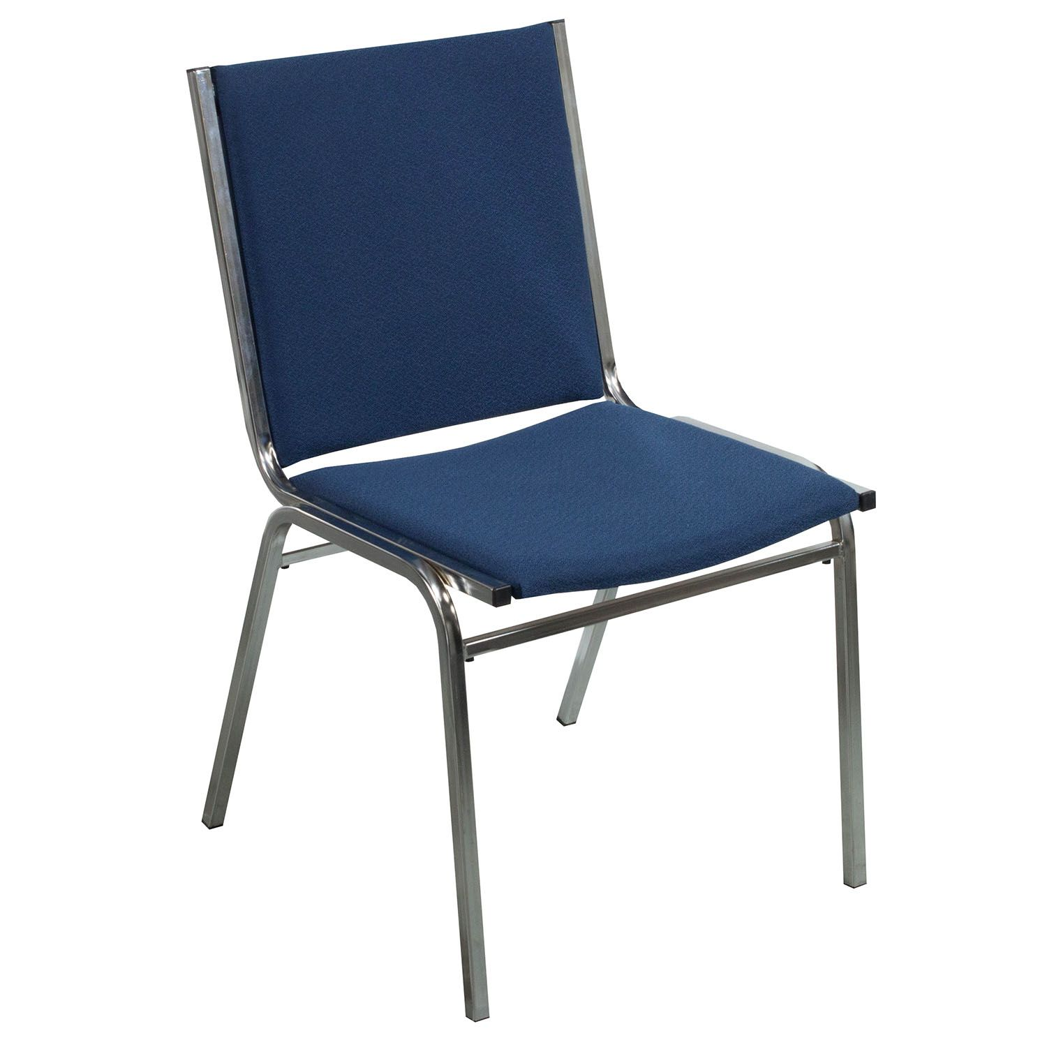 Best Global Used Armless Stack Chair Denim Blue Armless 400 x 300