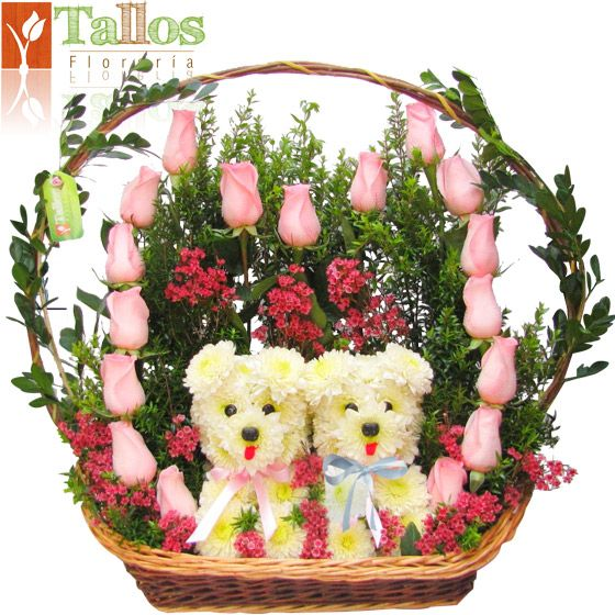 Arreglo florale rosas rojas arreglos florales - Arreglo de flores naturales ...