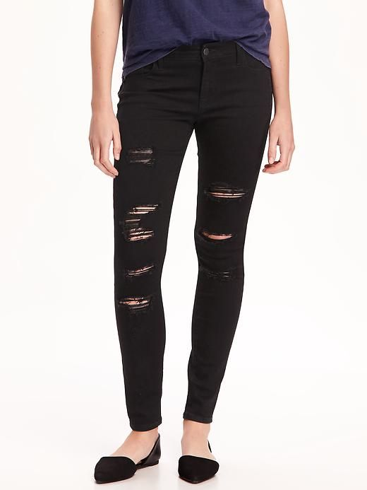 1309d9e61a7d1 Mid-Rise Raw-Edge Rockstar Ankle Jeans for Women | In My Closet ...
