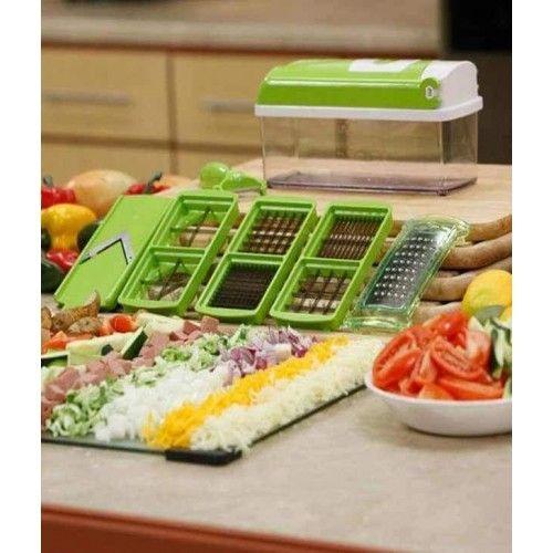 Nicer Dicer Plus Multi Chopper Vegetable Cutter Fruit Slicer   http ... 81e3e58f58