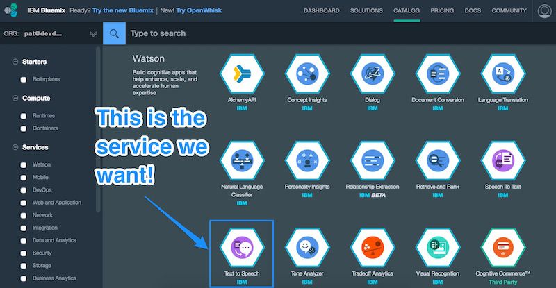 Teaching Your Raspberry Pi to Speak with IBM Watson
