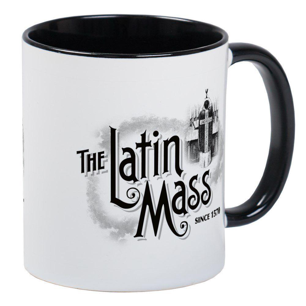CafePress The Latin Mass Mug Unique Coffee Mug Coffee Cup