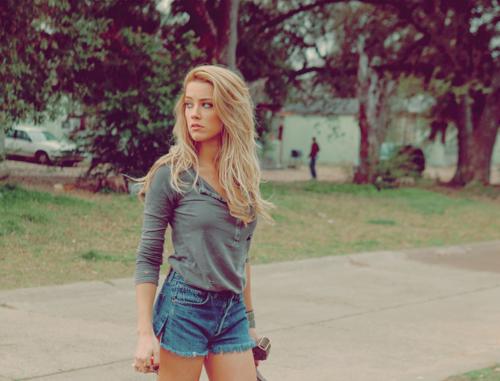 Blonde Girl On The Herd