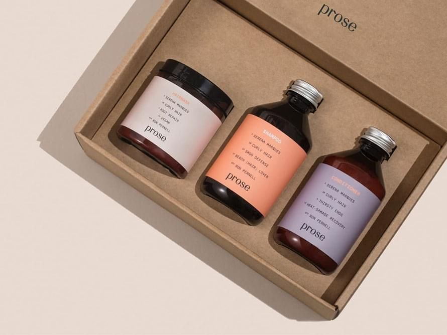 Personalized Hair Care CoCreated with a Stylist Prose